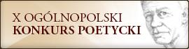 X Ogólnopolski Konkurs Poetycki im. Stanisława Czernika